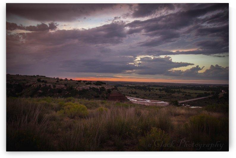 Oklahoma Sunset by Ashleigh Clack