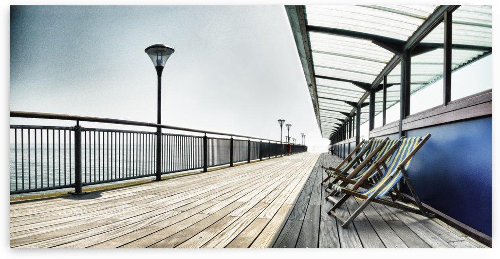 Boscombe Pier by Adrian Brockwell