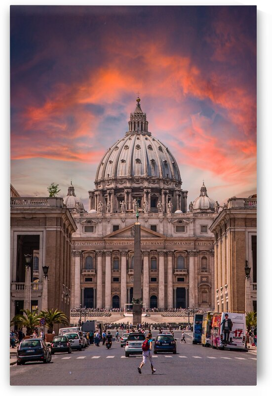 Saint Peters at Sunset by Darryl Brooks