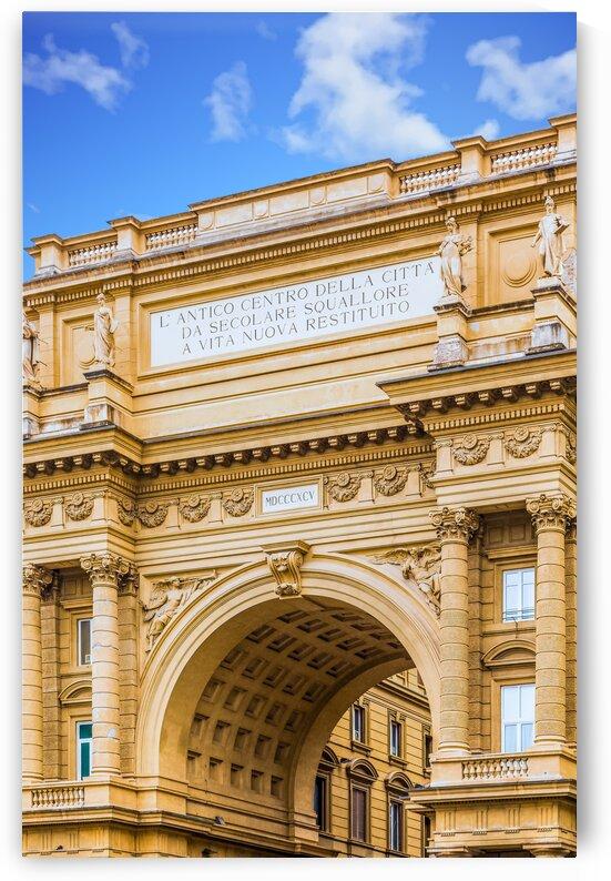 Triumphal Arch of Piazza Della Repubblica by Darryl Brooks