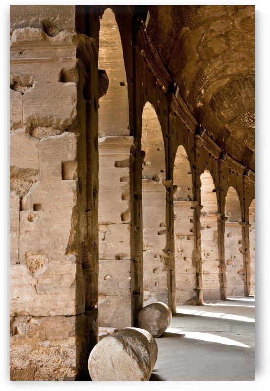 Arches Under Coliseum by Darryl Brooks
