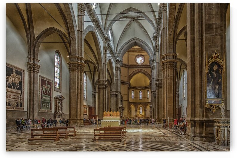 Inside Santa Maria del Fiore by Darryl Brooks