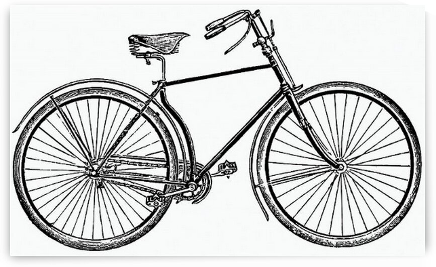 Vintage bicycle from Where to Buy at Coventry. by Mutlu Topuz