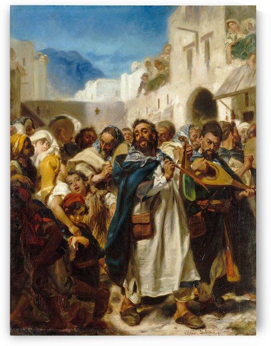 Jewish Festival in Tetouan by Alfred Dehodencq