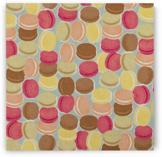 Macarons Aqua by Mutlu Topuz