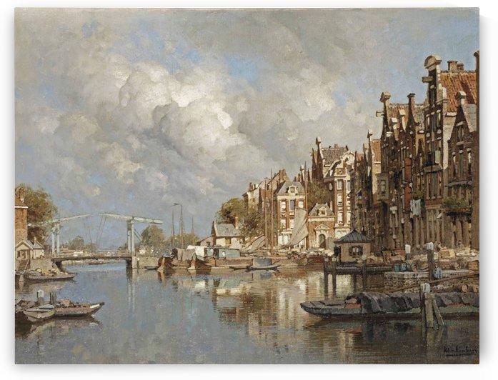 The Haagse Veer, Rotterdam by Johannes Klinkenberg