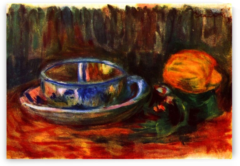 Still life with cup by