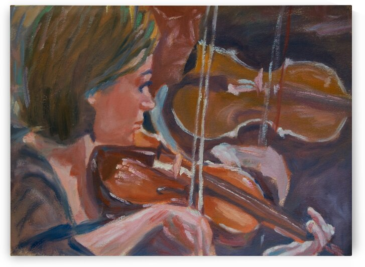 The violinist by RoySeberg