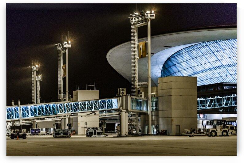 Montevideo Airport Night Scene  Uruguay by Daniel Ferreia Leites Ciccarino
