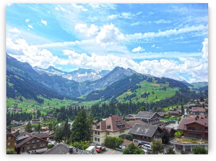 Beautiful Day in the Swiss Alps by 1North