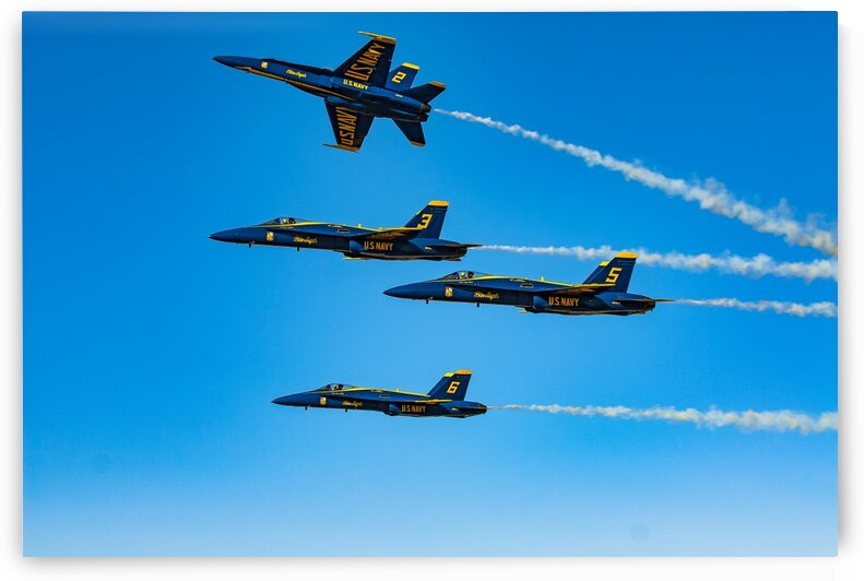 Blue Angels 9459 by Rob Clements