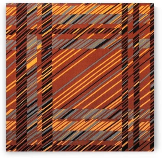 Plaids - Brown by Mutlu Topuz