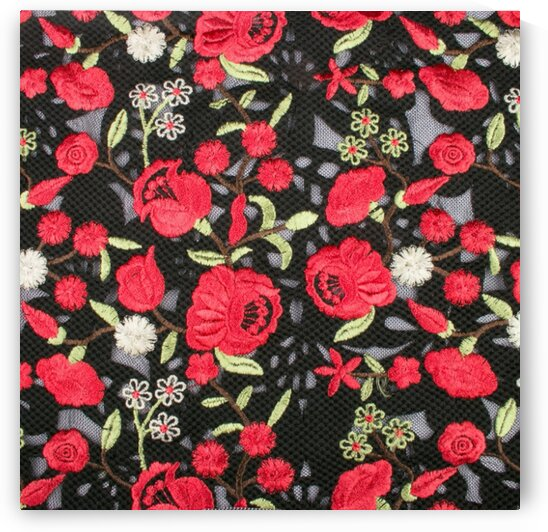 Embroidery - Black by Mutlu Topuz