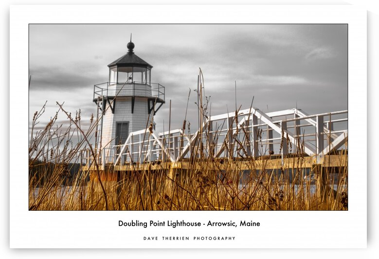 Doubling Point Lighthouse by Dave Therrien