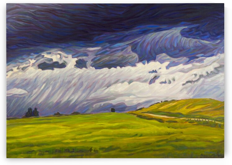 Foothills Storm by Sherry Nielsen