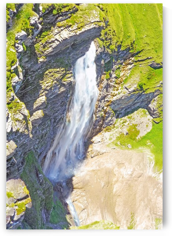 Swiss Highlands Waterfalls by 1North