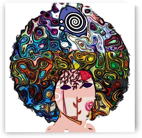 AfroPunk Fairy by Kiva Ayo