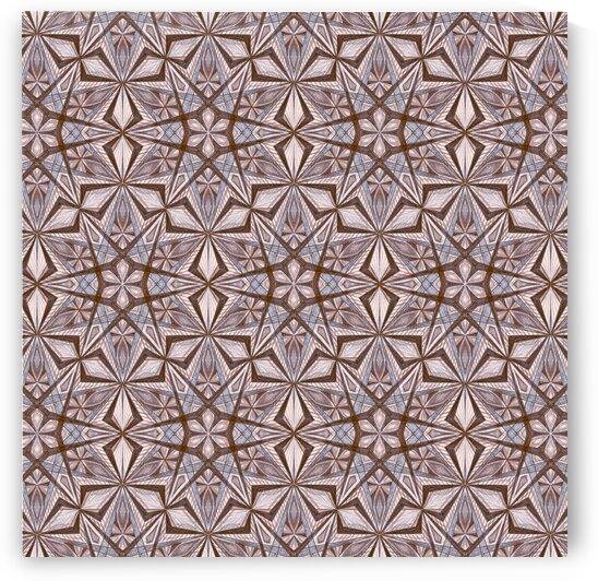 Star Kaleidoscope Handdrawing by Tsveta Dinkova