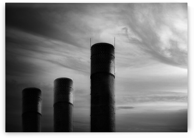 Smokestack Number Eight by Bob Orsillo