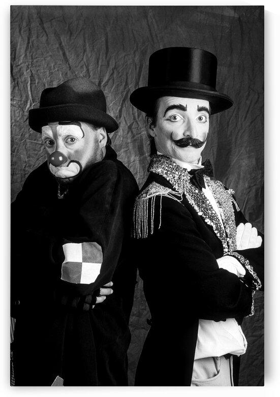 Clowns  2 by Daniel Ouellette