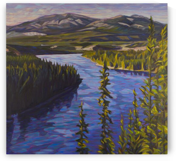 Yukon River Blues by Sherry Nielsen