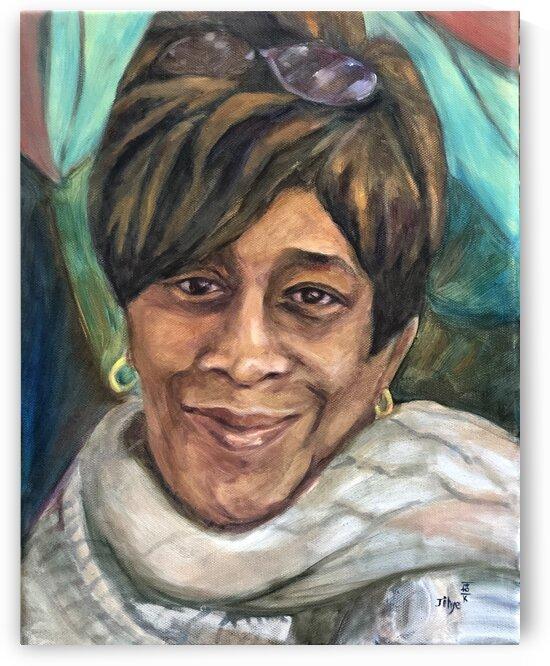Mama's Smile: Ms. Ernestine Manigault by JIHYE DESJADON