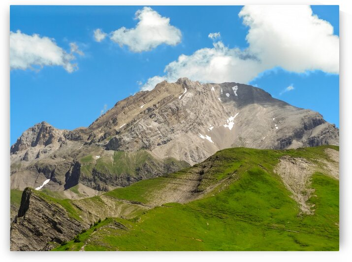 Mountain Peak in the Bernese Alps by 24