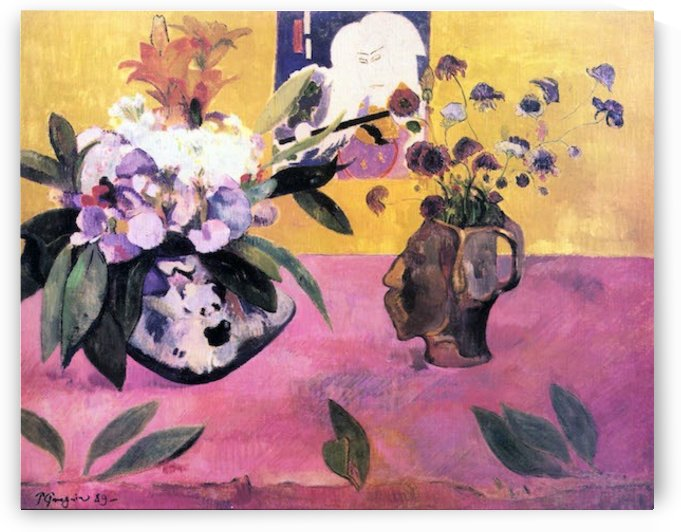 Still Life with Japanese Woodblock by