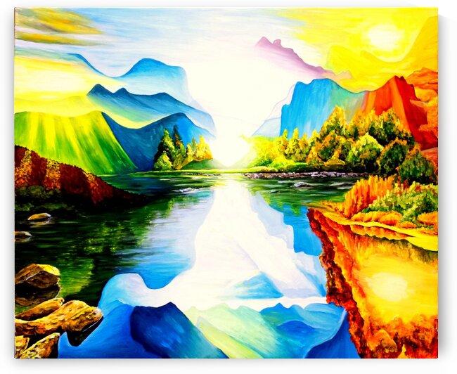 Spiritual dimensions  by Rose Vassilev