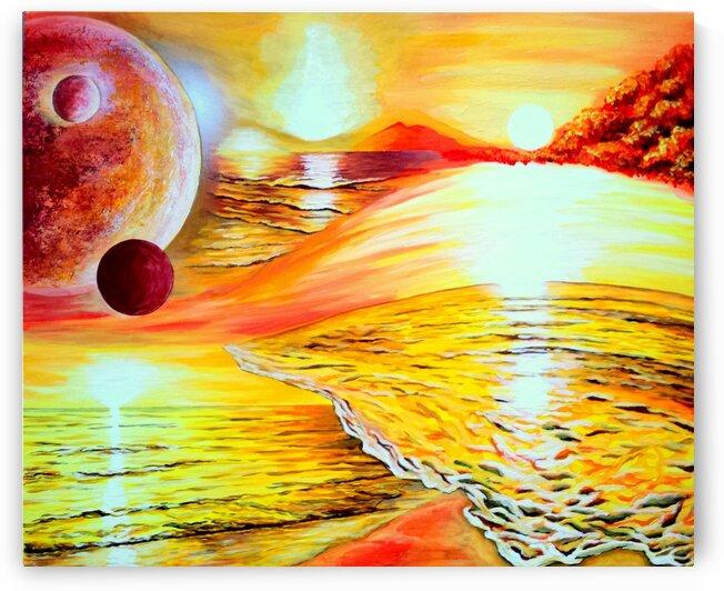 Flowing dimensions by Rose Vassilev