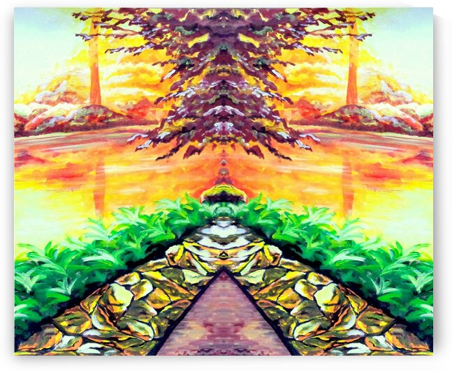 The pulsating energy of pyramides by Rose Vassilev
