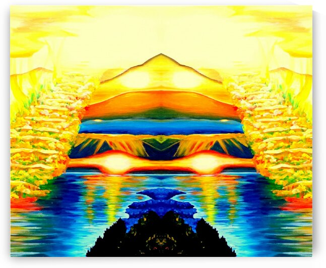 The oasis of the energies  by Rose Vassilev