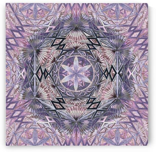 Flower Of Life Kaleidoscope by Tsveta Dinkova