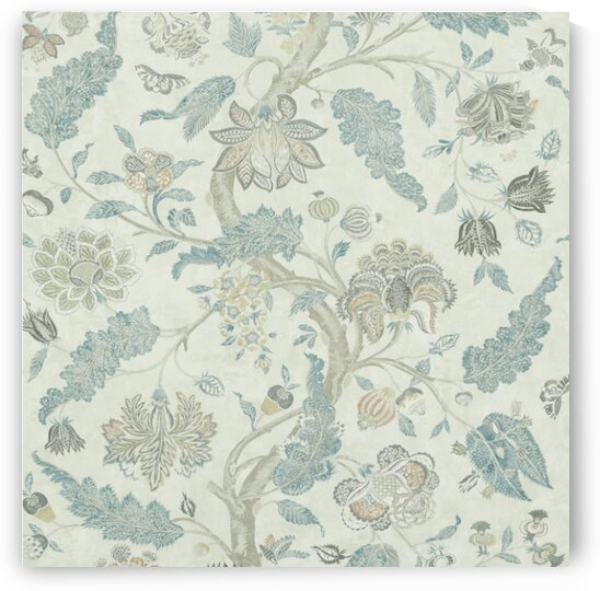 INDIENNE PRINT Natural-Aubusson by Mutlu Topuz
