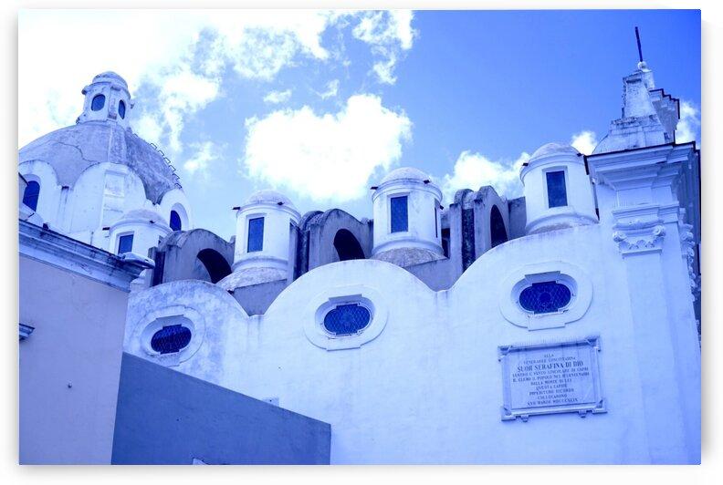 Blue Church by Wowey