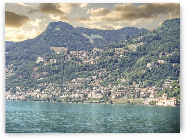 Lausanne Switzerland Across Lake Geneva by 24