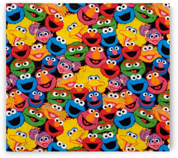 EXCLUSIVE Sesame Street Digital Characters Packed Multi by Mutlu Topuz