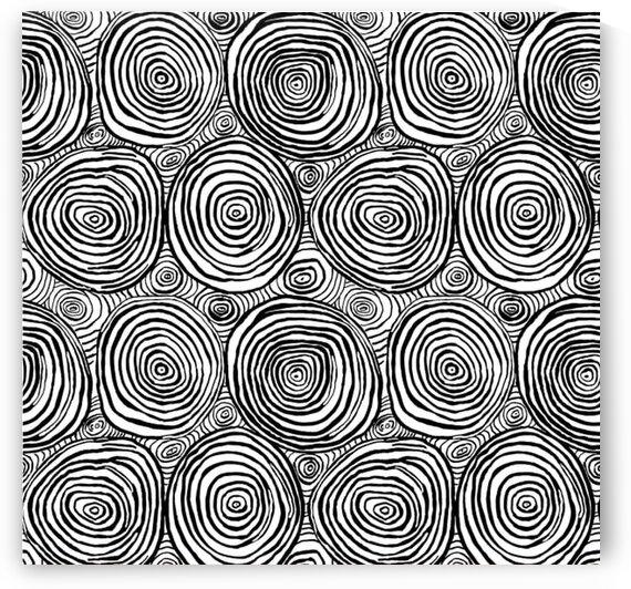 FreeSpirit Onion Rings Black by Mutlu Topuz