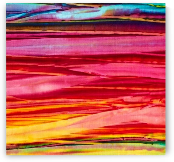 Handpaints Bold Stripes Wild by Mutlu Topuz