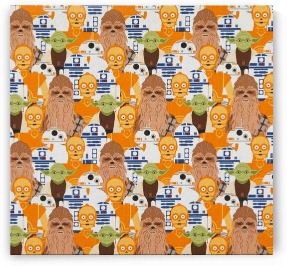 Star Wars Portrait Stacked Multi by Mutlu Topuz