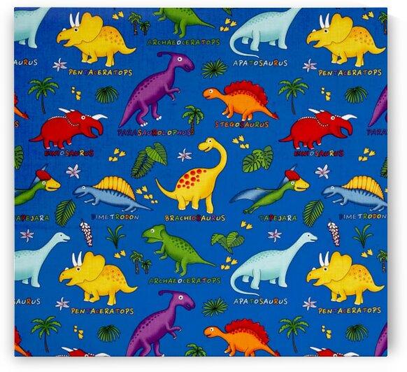 Dinosaurs Royal-Multi by Mutlu Topuz