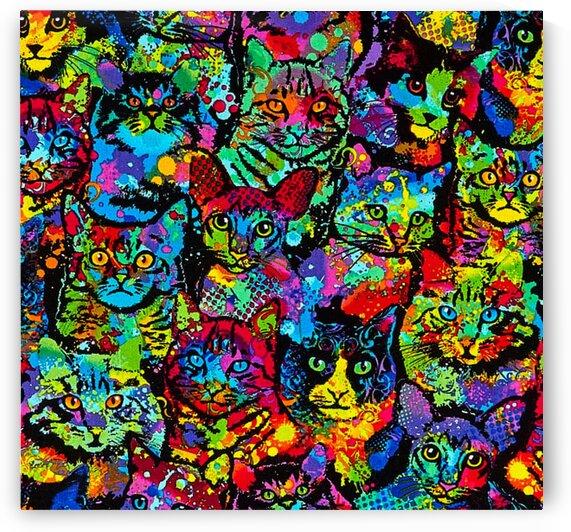 Brite Cats Multi by Mutlu Topuz
