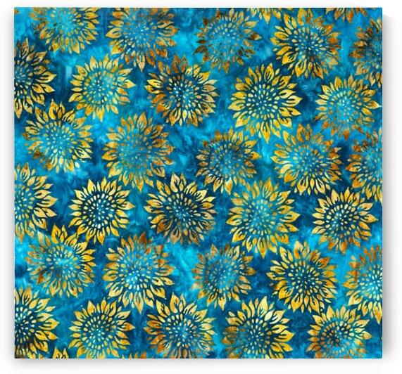 Summer Flowers Sunflowers Breeze by Mutlu Topuz