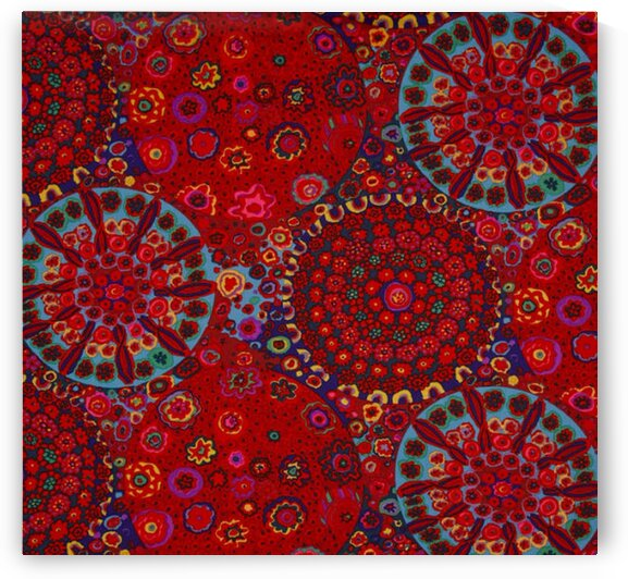 arnivale Dots White-Multi by Mutlu Topuz