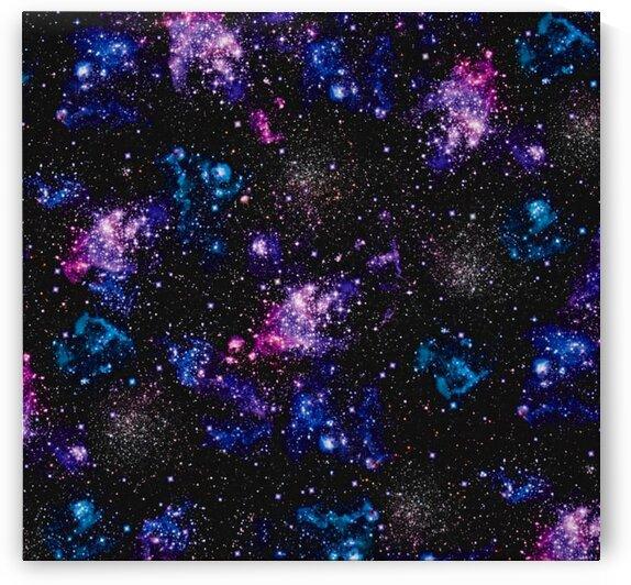Digital Stars Nightfall by Mutlu Topuz