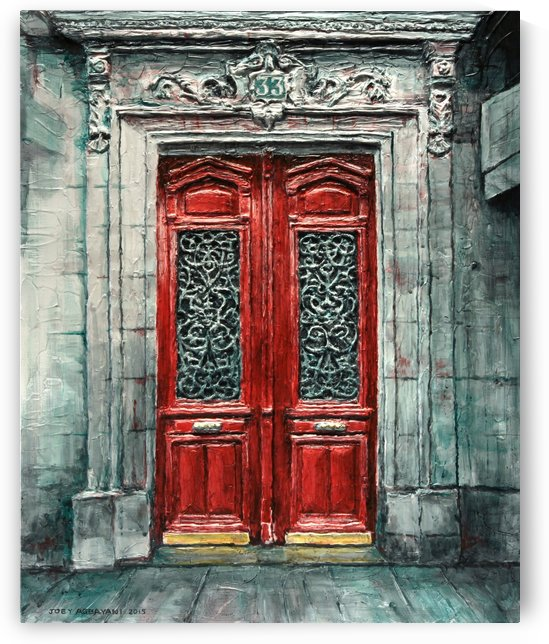 Parisian Door No. 33  by Joey Agbayani