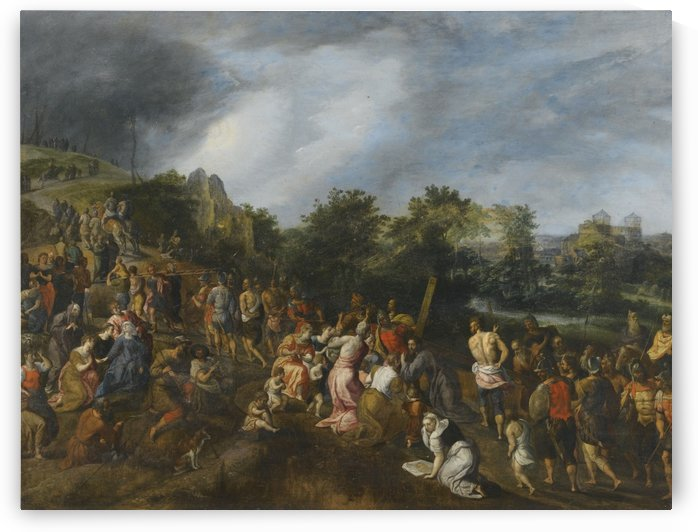 Christ on the Road to Calvary by Gillis Mostaert