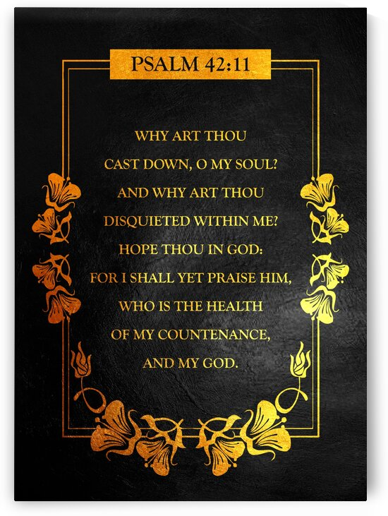Psalm 42:11 by ABConcepts