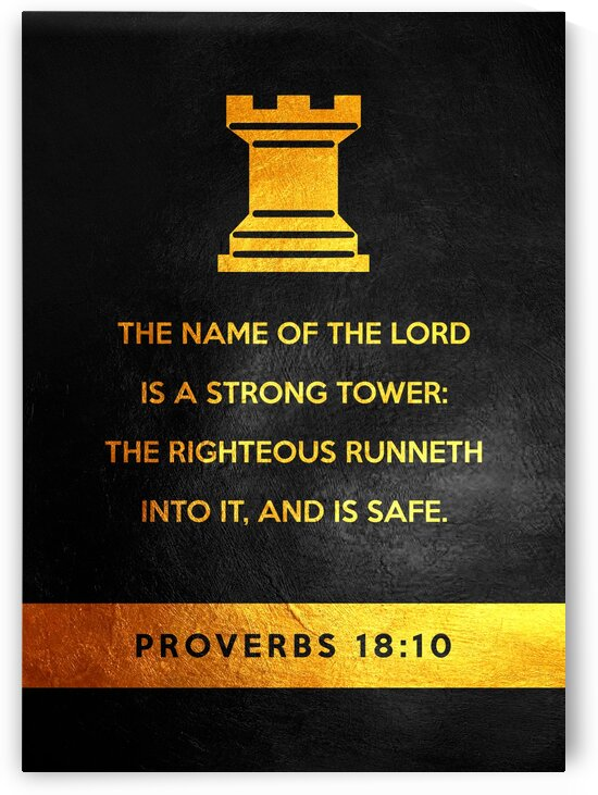 Proverbs 18:10 by ABConcepts