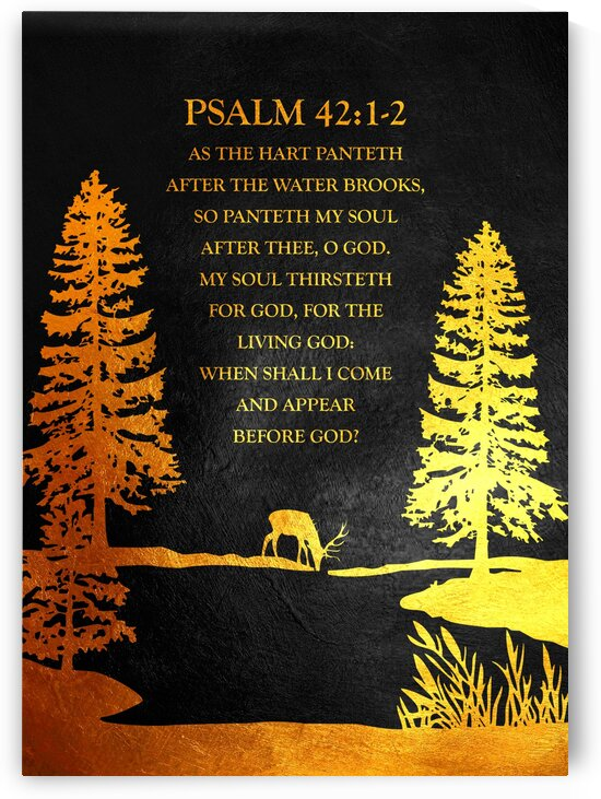 Psalm 42:1-2 by ABConcepts